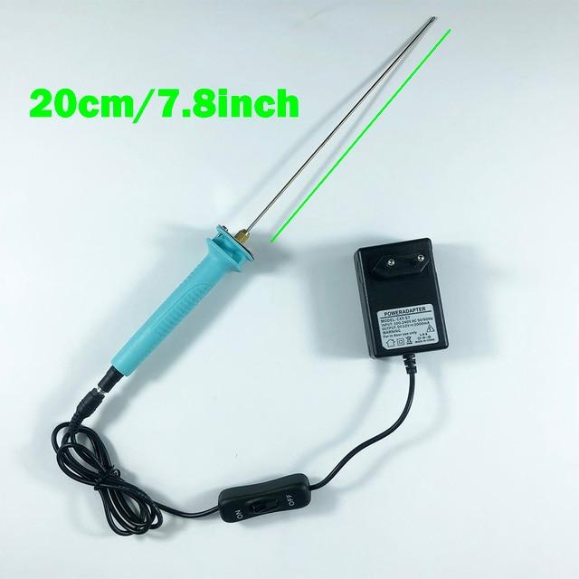 7.8inch/20cm Electric Hot Wire Foam Polystyrene Cutter Pen Heat ...