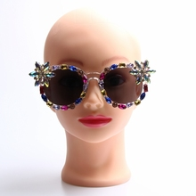 2017 женщины солнцезащитные очки роскошные солнцезащитные очки crystal vintage cat eyes солнцезащитные очки мода тень uv400 óculos