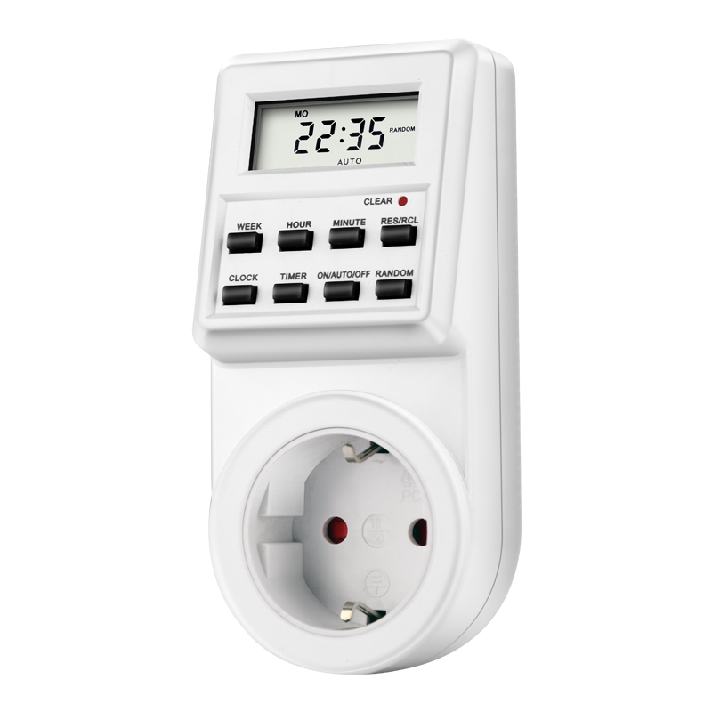 Digital LCD Display US EU Plug-in Programmable Timer Switch Socket Electrical Sockets цена