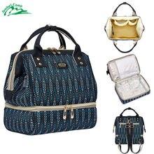 838d02c2dd Jeebel multi-fonction pique-nique sac à dos sac déjeuner panier thermique  femmes hommes grand Portable isolé maman lait sac USB .