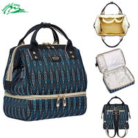 Jeebel Multi function Picnic Backpack Bag Lunch Basket Thermal Women Men Large Portable Insulated Mom Milk Bag USB Charge