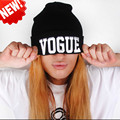 Fall and Winter Beanie Unisex Hip-Hop Hat VOGUE Sport Beanie Cap Knitted Hats Mens Black Hats with Letters  MZ988