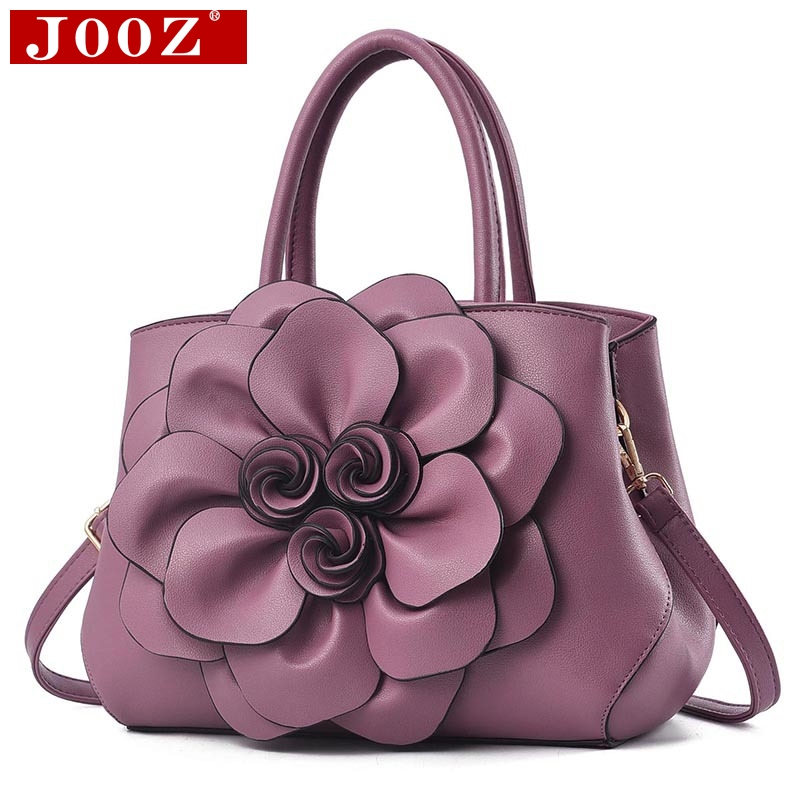 JOOZ Luxury womans handbag Original big Floral casual totes High capacity female leather shoulder crossbody bags Mom giftJOOZ Luxury womans handbag Original big Floral casual totes High capacity female leather shoulder crossbody bags Mom gift