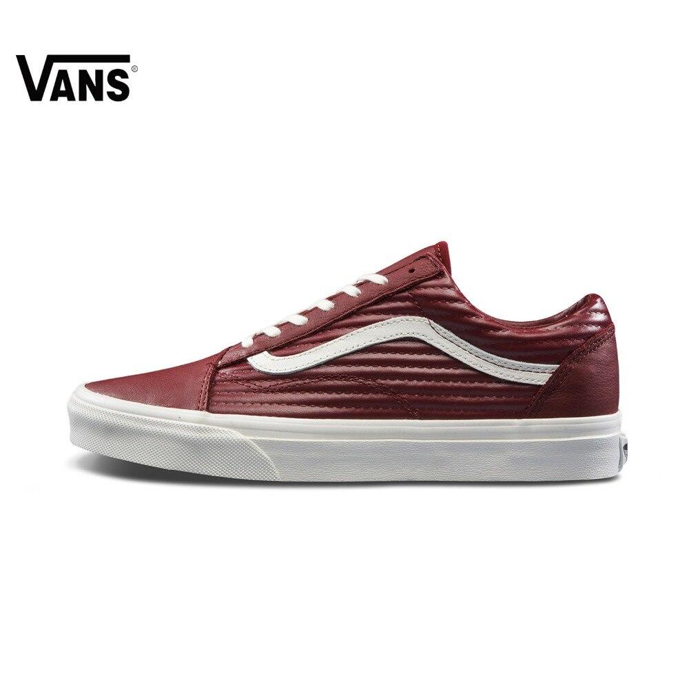 Original Vans New Arrival Men's and Women's Unisex Old Skool Low Top Skateboarding Shoes Canvas Sport Shoes Sneakers
