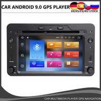 Octa core Android 10.0 Auto DVD GPS-Player Für Alfa Romeo Spider Alfa Romeo 159 Brera 159 Sportwagon 4GB + 64GB Wifi Radio BT DAB +