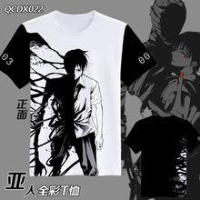 Ajin NagaiKei Mode Japansk Anime Kläder Kortärmad Unisex Casual T-shirt