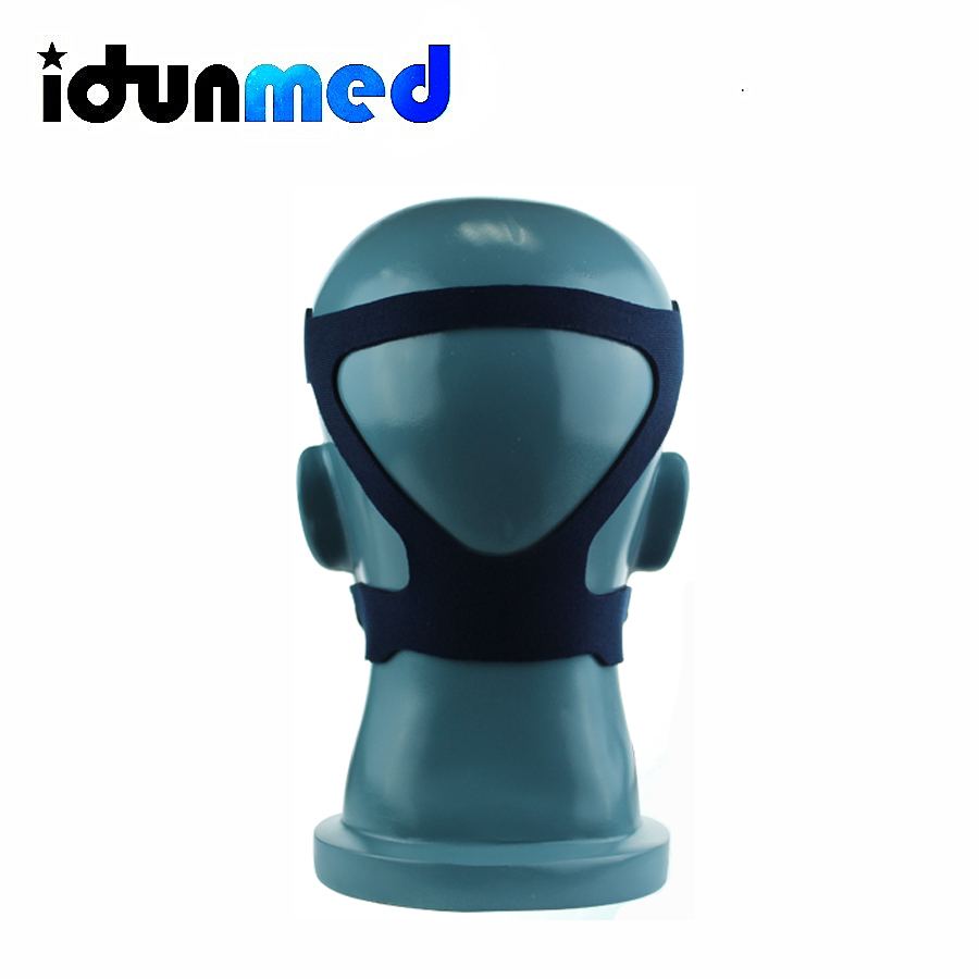 idunmed Adjustable Chin Strap Blue For CPAP Mask Breathing