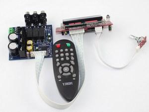 Image 2 - PGA2311U uzaktan kumanda ses Ön amplifikatör kurulu/üç giriş anahtarı/sinyal anahtarlama ön bitmiş kurulu