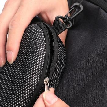 New Zipper Eye Glasses Sunglasses Hard Case Cover Bag Storage Box Portable Protector Black High Quality 6