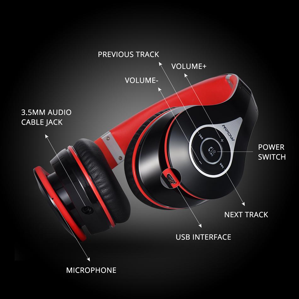 HTB1ivRLQXXXXXaQXVXXq6xXFXXXK - Mpow CVC 6.0 Bluetooth Headphones