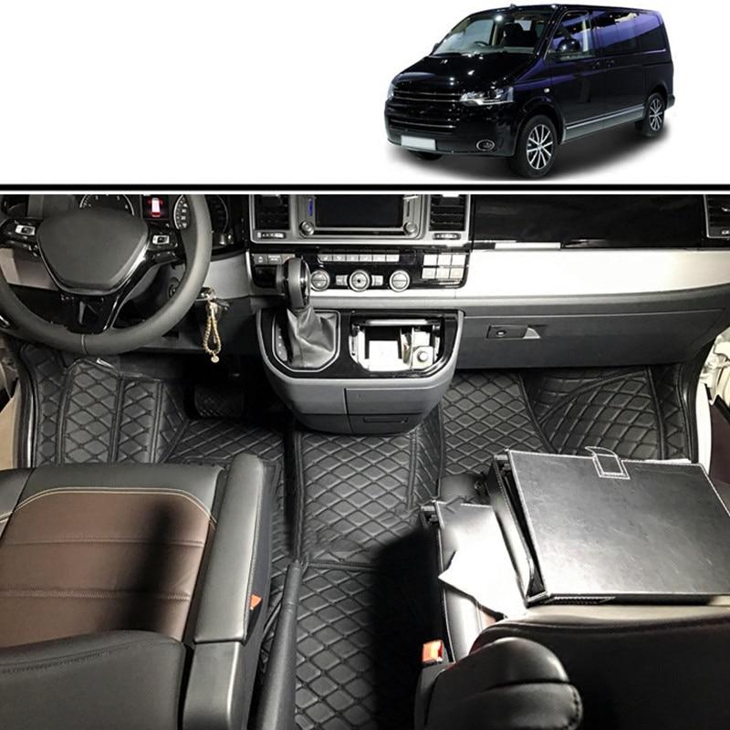 lsrtw2017 fiber leather car interior floor mat for volkswagen transporter T5 T6 2003-2020 2019 2018 2017 2016 2015 2014 2013lsrtw2017 fiber leather car interior floor mat for volkswagen transporter T5 T6 2003-2020 2019 2018 2017 2016 2015 2014 2013