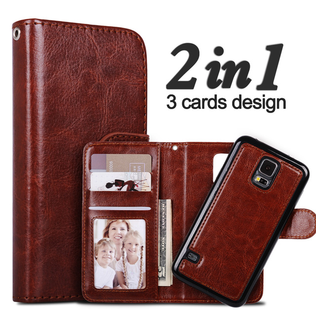 new product 78135 33a65 US $7.85 |LANCASE For Samsung Galaxy A3 2017 Case Flip Detachable Wallet PU  Leather Case For Samsung Galaxy A5 2017 Cover Magnetic Card-in Wallet ...