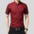 Camisa de los hombres 2016 Verano Nuevo Macho Llegada Cuello Mao Sólido Negocio libre de Hierro de Manga Corta Camisas de Vestir de Algodón 5XL N202