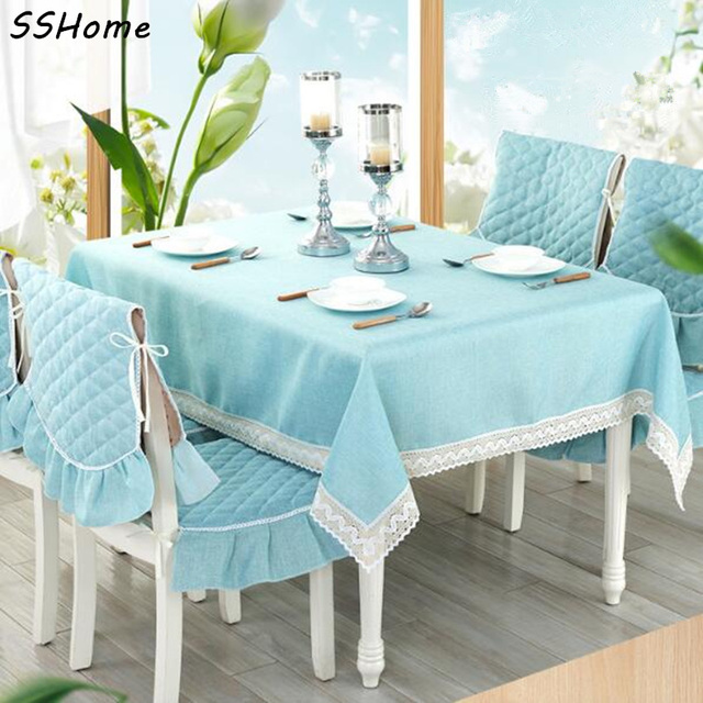 Cotton And Linen Tablecloth High Quality Beautiful Silk Table Cloth Dining  Chair Cover Cushion Table Flag