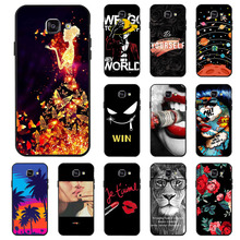 Ojeleye Fashion Black Silicon Case For Samsung Galaxy A5 2016 Cases Anti-knock Phone Cover For Samsung A5 2016  A510F Covers смартфон samsung galaxy a5 2016 4g 16gb black