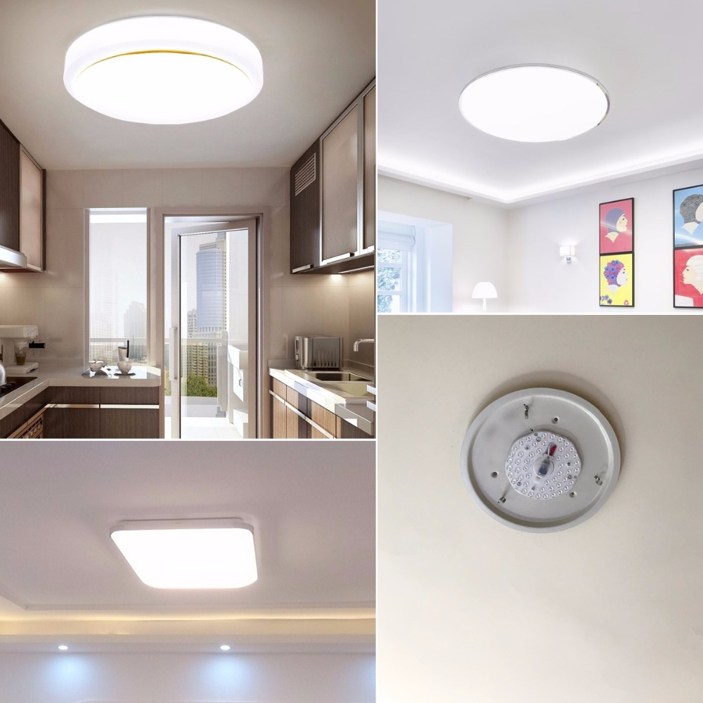 Portable Ceiling Lights LED Light Source 12W 18W 24W 32W 220V Lamp SMD2835  High Lumens White Replace Incandescent Bulb Lighting  In LED Bulbs U0026 Tubes  From ...