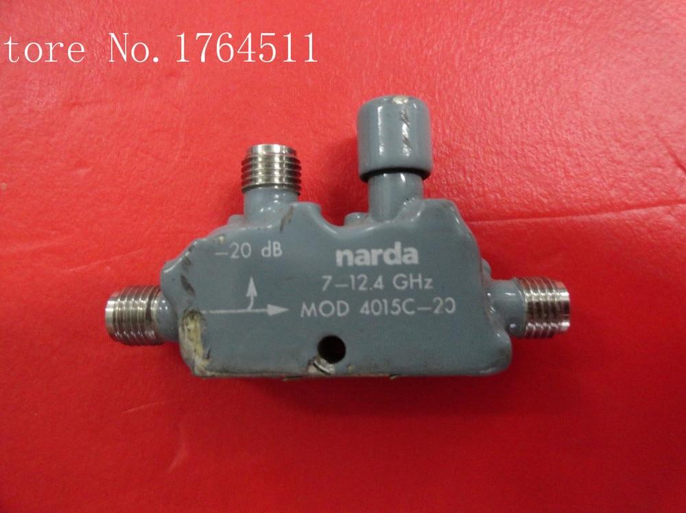 [BELLA] Narda 4015C-30 DC-30DB 7-12.4GHZ Supply Coupler