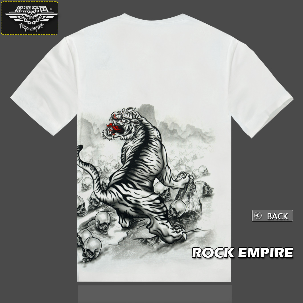 b6ea307932862 Dragon and Tiger Tattoo Tattoo T shirt cotton Japanese graffiti T shirt  Metrosexual T shirt-in T-Shirts from Men's Clothing on Aliexpress.com |  Alibaba ...