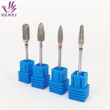 цены Carbide Cutter Burrs nail drill bit Metal Bits  3/32