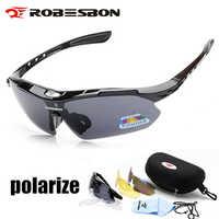 2019 gafas de ciclismo polarizadas gafas 3 lentes Uv400 montaña carretera bicicleta gafas Mtb Running pesca gafas de sol gafas