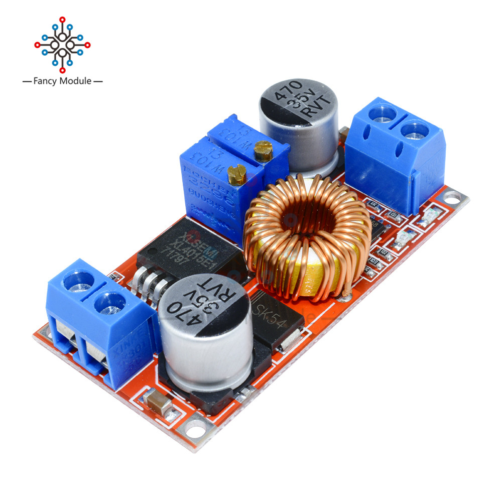 Original 5A DC to DC CC CV Lithium Battery Step down Charging Board Led Power Converter Lithium Charger Step Down Module hong