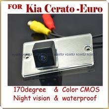 Cámara posterior del coche de aparcamiento marcha atrás del monitor de cámara de visión trasera para KIA CERATO Euro Cerato GL MT noche visión