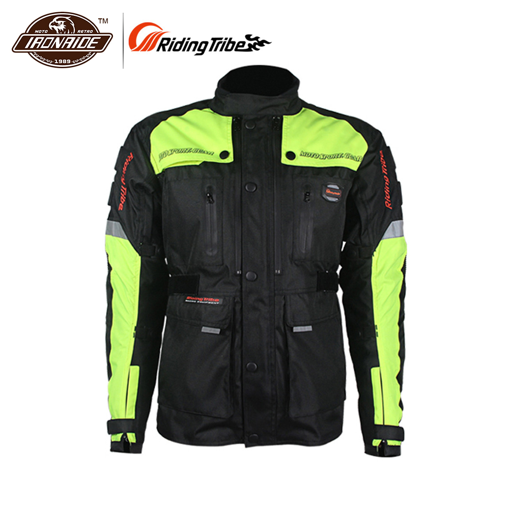 цена на Riding Tribe Motorcycle Jacket Windproof Waterproof Motorcycle Body Arnor Riding Jacket Motorcycle Clothing Moto Jacket