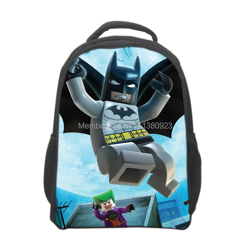 Free Shipping Lego Movie Backpack for Boys Lego School bags Kids ...