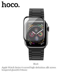 Image 2 - 3D изогнутый чехол для Apple Watch iWatch Series 5 Series 4 40 мм 44 мм