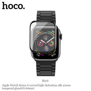 Image 2 - HOCO 9H 3D Curved Full Coverage Tempered Glass Screen Film For Apple Watch iWatch Series 5 Series 4 40mm 44mm Screen Protector