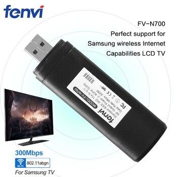 New FV-N700 300Mbps Dual band 802.11 abgn 2.4G5Ghz Wireless USB TV Network Card Dongle for Samsung Smart TV Laptop Desktop резак для щеток стеклоочистителей