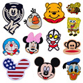 1 PCS Embroidered Cartoon Character Patch Free Shipping Lovely Patches for Clothing Stickers for Clothes Parches Bordados