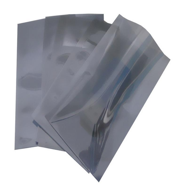 12 X 33 Cm Or 4.72 X 12.99 Inch Anti Static Shielding Bags ESD Anti-Static Pack Bag 50pcs/bag