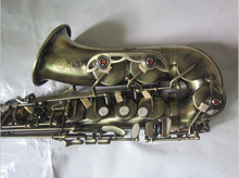 Saxophone 54 Jazz Alto saxophone Antique bronze Boquilha Sax alto Musical instruments professional Free shipment