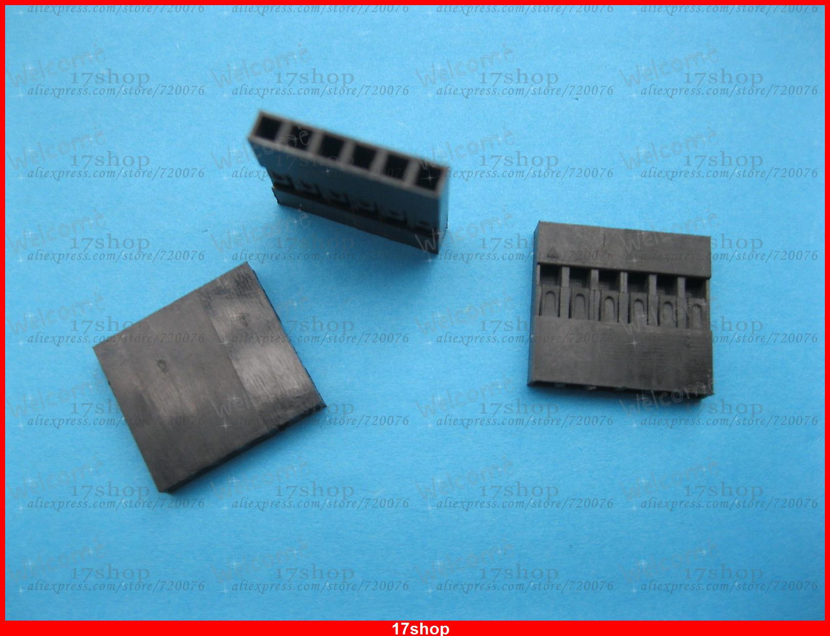 3000 pcs Jumper Wire Female Housing 6 Pin Connector Pitch 2.54mm Black Color