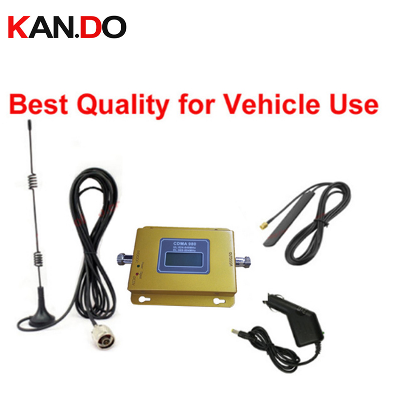 High Quality For Car 69dbi  CDMA 800mhz CDMA 850Mhz Mobile Phone Signal Booster 2G Network Signal Repeater Cdma Amplifier