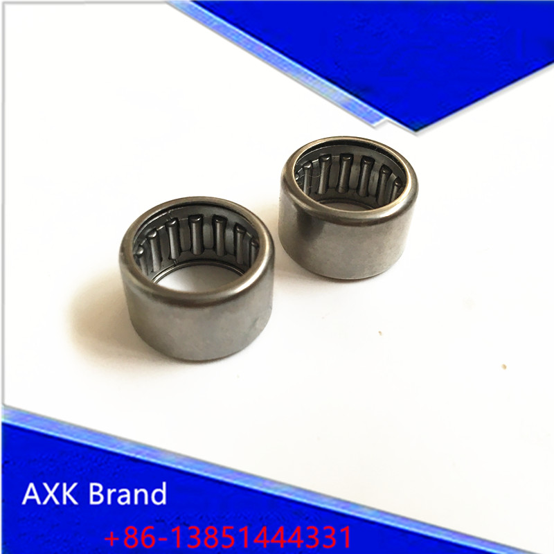 Free shipping High Quality Drawn Cup Type Needle Roller Bearing  HK0306  HK0408  HK0607  HK0608  HK0708  HK0810 HK1010 free shipping high quality 1pc hk303824 7942 30 drawn cup type needle roller bearing 30x38x24mm