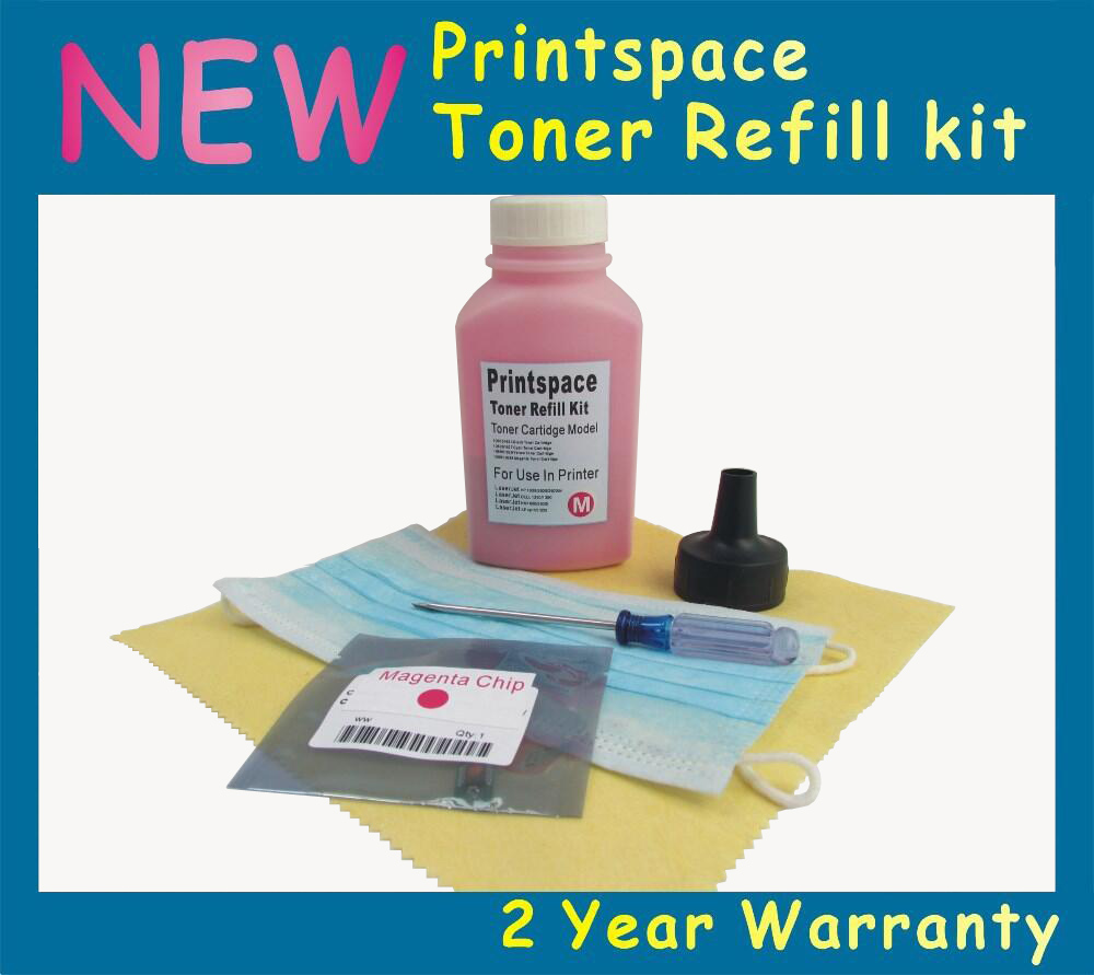 ФОТО NON-OEM Toner Refill Kit + Chips Compatible For Xerox Phaser 7500 7500DT 7500DN 7500YDN 7500DX Free shipping