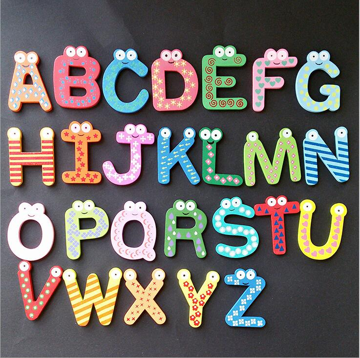 Popular diy alphabet magnets buy cheap diy alphabet for Letter fridge magnets game