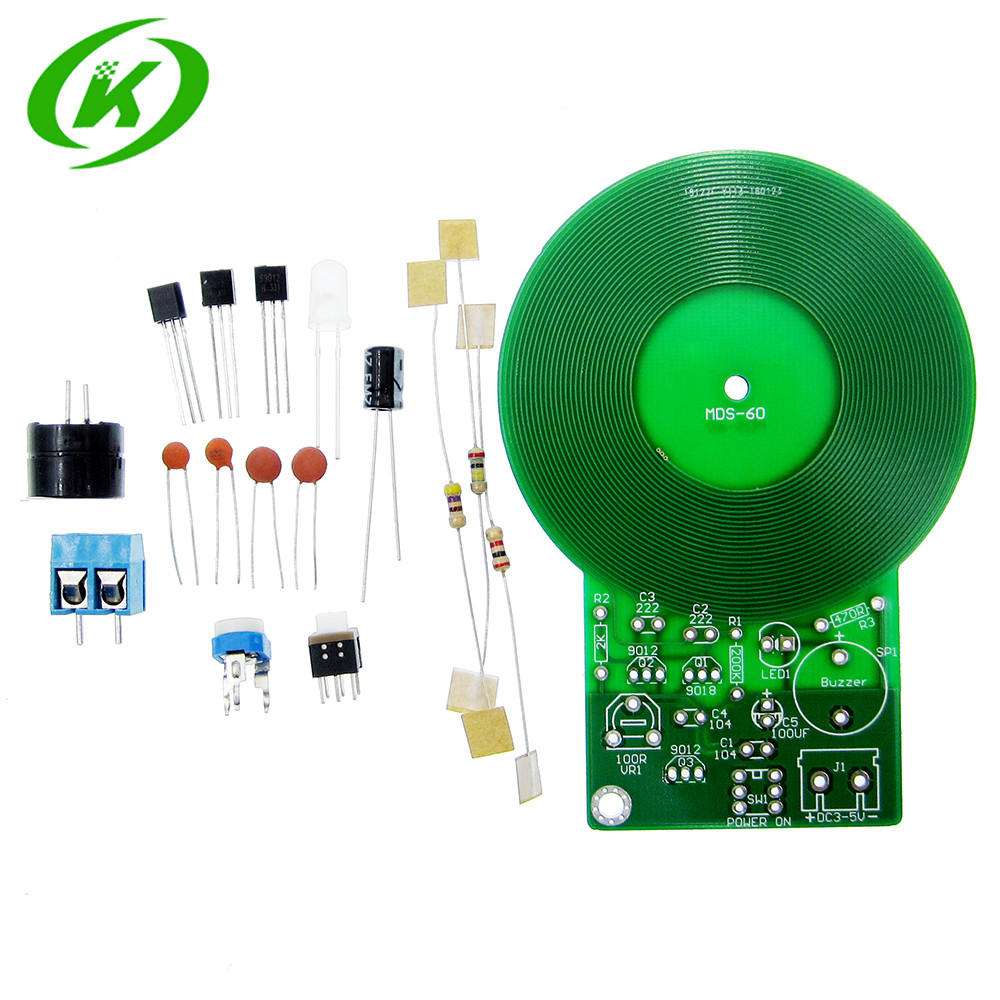 Diy Kit Metal Detector Electronic Dc 3v 5v 60mm Non Contact Circuit Boards Is