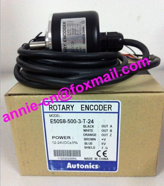 ФОТО AUTONICS E50S8-500-3-T-24 New and original   Incremental rotary encoder