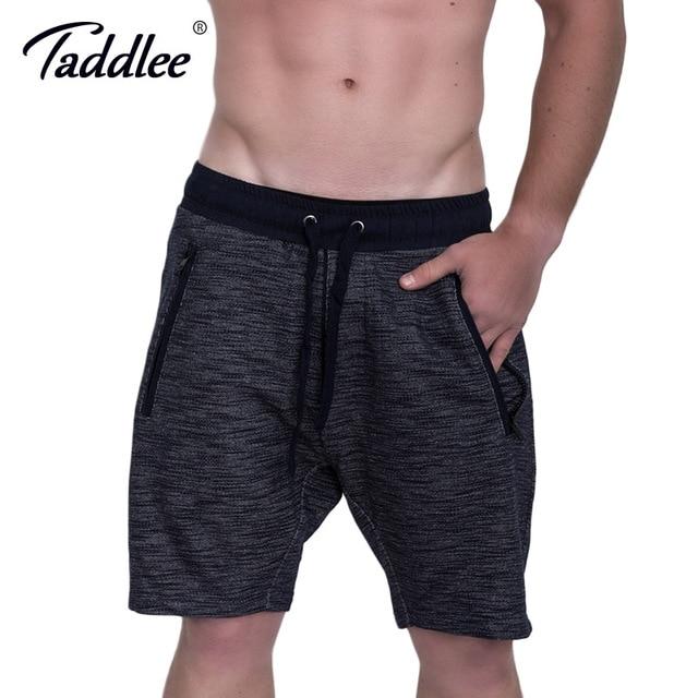 Taddlee Brand Men Shorts Gym Running Sports Fitness Gasp Short Bottoms Boxer Trunks Bodybuilding Training Shorts