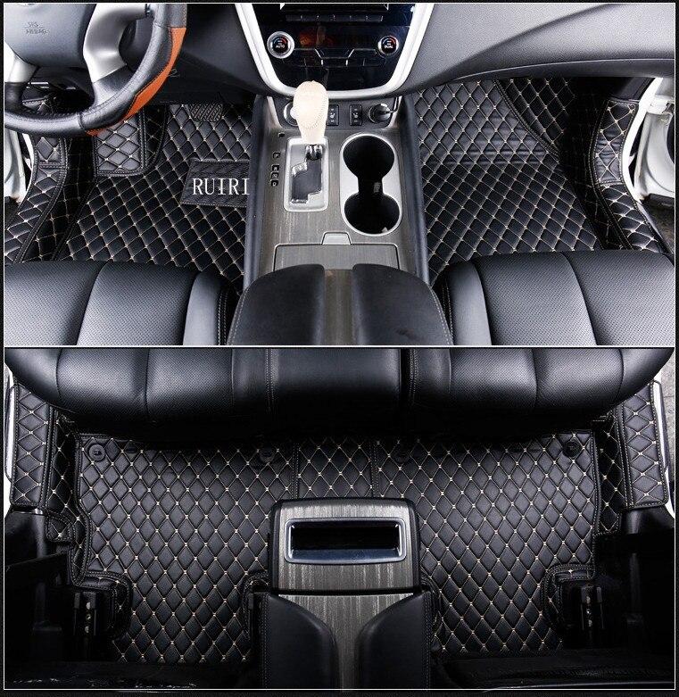 Haute qualité! Spécial de voiture tapis de sol pour Nissan Murano Z52 2018-2015 durable étanche tapis pour Murano 2016, Livraison gratuite