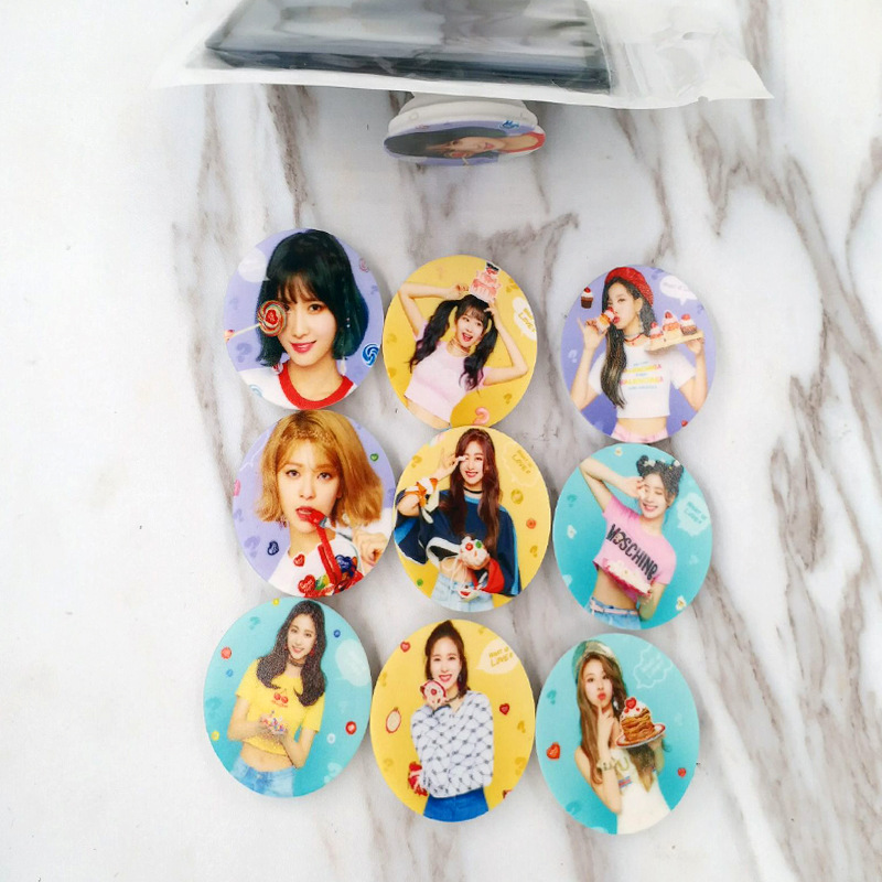 [MYKPOP]TWICE WHAT IS LOVE Adjustable Phone Holder Stand for Smartphones Fans Collection SA18053102