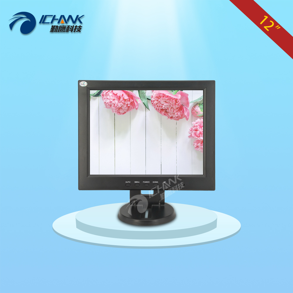 CB120JNV-2/12 inch 1024x768 4:3 VGA Signal Interface Applicable To Small Size Space Computer POS Machine Screen Display Monitor 8 4 8 inch industrial control lcd monitor vga dvi interface metal shell open frame non touch screen 800 600 4 3