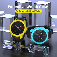 SIKAI PC Protective Case For Ticwatch C2 Smart Watch Movement Strong Cover For ticwatch Smartwatch Accessories Easy Install Case цены
