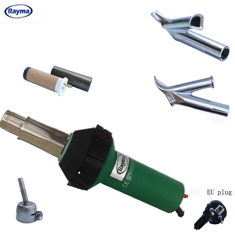Бесплатная доставка Rayma бренд фен, пневматический пистолет тепла, тепло воздуха сварщик 230 v/120 v 1600 w 50/60 hz сварки пластиковых фена
