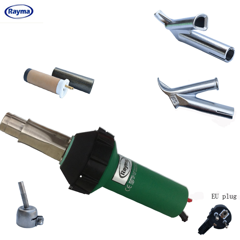 free shipping Rayma brand hair dryer ,heat air gun ,heat air welder 230v/120v 1600w 50/60hz plastic hot air welding gun spelling today ages 8 9