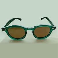 Green Johnny Depp Sunglasses Men Women Polarized Sun glasses Top quality Acetate Eyewear frame Driving Shades Brand Designer 084