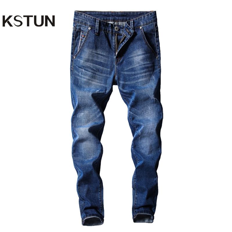"Men`s New Branded Classic Fit Straight Leg Jeans Size W48/""-L30/"" Dark Wash"